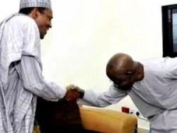 Tinubu Bows To Buhari