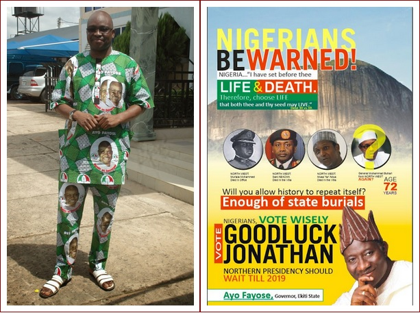 ayo-fayose's advert against buhari