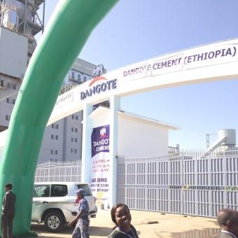 dangote ethiopia cement