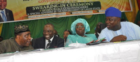 lagos state commissioner swearing-in