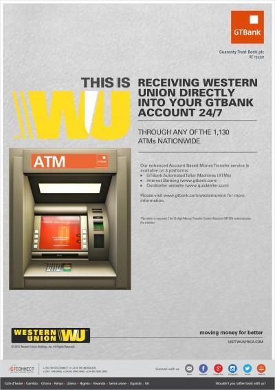 western union ATM