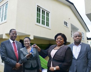 Fidelity Bank presents  Duplex to Mrs. Clara Ego  Ibedu