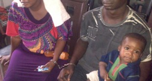 mama oyin and-her-husband-with-the-boy