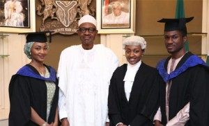 Buhari-Daughter-graduation