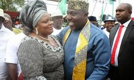 okorocha and wife