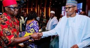 Fayose-and-Buhari-handshake