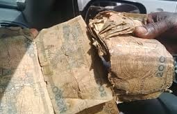 dirty naira note